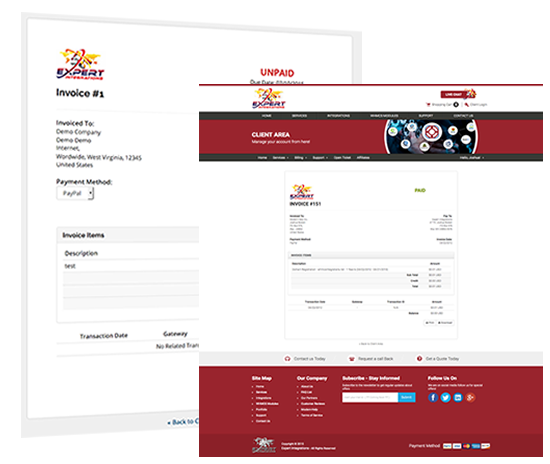 whmcs invoice & quote template branding service! get yours, Invoice templates